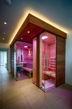 Read the webpage above press the grey link for even more options :- diy sauna Diy Sauna, Saunas, Infra Sauna, Bathroom Spa, Modern Bathroom, Basement Sauna, Sauna Wellness, Soul Spa, Home Spa Room