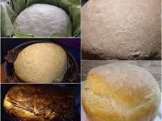 Paine coapta pe frunze de varza Bread, Food, Rezepte, Essen, Breads, Baking, Buns, Yemek, Meals