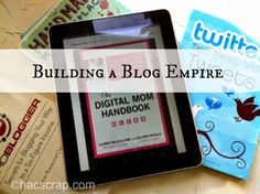 Just like anything, building a blog takes time, attention and thought. Blogging Resources for Building Your Blog