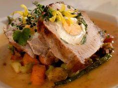 Vepřová pečeně plněná vejci a bylinkami Pork, Beef, Kale Stir Fry, Meat, Pigs, Ox, Pork Chops, Steaks, Steak