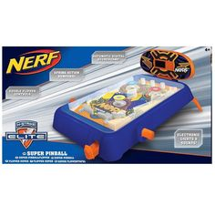 Nerf N-Strike Elite Super Pinball Machine - Mini Table Top Pinball Flipper Game in Toys & Games, Games, Other Games | eBay #kids #kids #girls #boys #children #children #toy #toys #play #playing #imagination #encourageplay #kidswillbekids #childhood #childhoodunleashed #fun #cool #game #games #Nerf