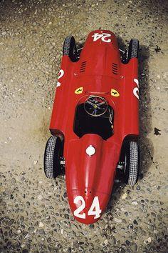 Ferrari, Monza, Italian Grand Prix 1956.