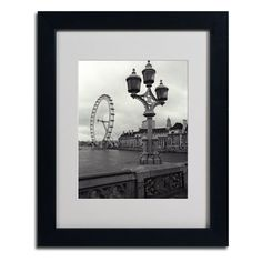 "Found it at Wayfair - ""London Eye"" by Kathy Yates Framed Photographic Print"