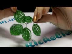 ▶ French Beaded Flowers - Lesson 3 - Continuous Loops, Flower Assembly, Reading a Pattern - YouTube