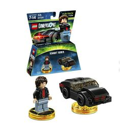 Lego Dimensions Michael Knight Fun Pack (Michael Knight and K.I.T.T. included)