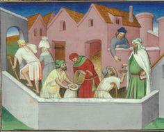 Marco Polo, Le Livre des merveilles  Date d'édition :  1400-1420  Date d'édition :  1470-1475  Français 2810  Folio 137v