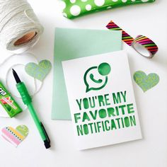 LDR Card (010) | Long Distance Relationship Card | LDR Gift | MilSO Card | (You're My Fav Notification)