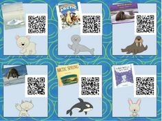 Arctic Animals QR Code Read Alouds {FREE!}