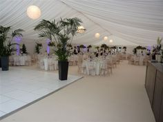 Marquee for Hire Weddings and Party Marquees. Luxury Wedding Marquees and Event Marquee Hire in Ireland Marquee Hire, Marquee Wedding, Paper Lanterns, Luxury Wedding, Table Decorations, Party, Home Decor, Decoration Home, Room Decor