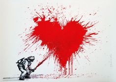 Mr. Brainwash, Love to the Rescue, 2014 on Paddle8