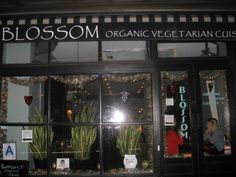 Have eaten here, many times, excellent...Blossom Restaurant, Chelsea, NYC
