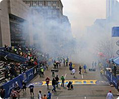 Boston marathon bombing happened on same day as 'controlled explosion' drill by Boston bomb squad