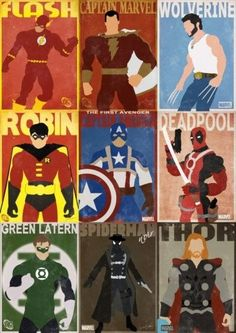 Cool Stuff We Like Here @  CoolPile.com ------- << Original Comment >> ------- Superheroes af Gautam Singh they so DEADLY!!               0 #:)