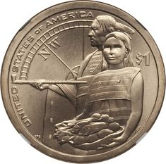 2014 D Sacagawea Native American Dollar Value Rare Coins Worth Money, Valuable Coins, Old Coins Value, Sacagawea Dollar, American Dollar, Euro Coins, Coin Worth, Coin Values, Old Money
