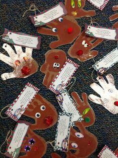 Sparkles, Smiles, and Successful Students: Reindeer Parent Ornament Gifts