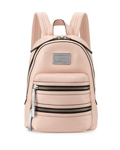 Domo Biker Leather Backpack, Pearl Blush by MARC by Marc Jacobs at Neiman Marcus.