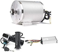 36V 500W Motor Controller With DC Electric Motor For