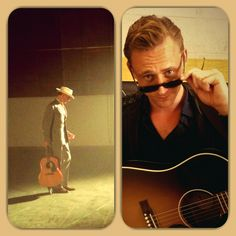 Tom Hiddleston singing jambualya by Hank Williams. VIDEO: https://www.youtube.com/watch?v=KCs0tY7Qr0A&feature=player_detailpage