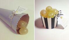 Ideas para presentar las uvas en Nochevieja