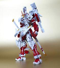 "MG 1/100 Gundam Astray Red Frame Kai ""Raizen"" Custom Build - Gundam Kits Collection News and Reviews"