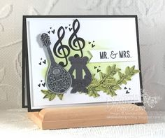 Debbie's Designs: Anything But The Holiday Blog Hop using Musical Season, Cheers To The Year and Musical Instruments Framelits Dies. Debbie Henderson #stampinup #bloghop #musicalinstruments #musicalseason #cheerstotheyear #debbiehenderson #debbiesdesigns