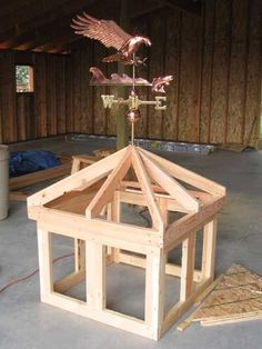 How to build a cupola with windows #PoleShedPlan