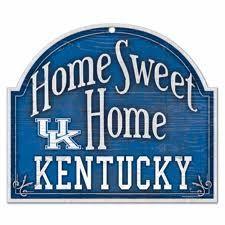 Home sweet Ky..and home sweet Ky basketball!!..:)