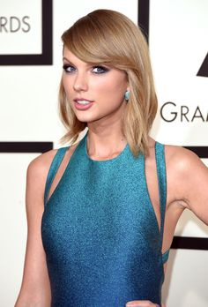 Taylor Swift's  Satiny Strands  - MarieClaire.com