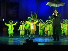 Singing In the Rain -Kids  Theaterical routine