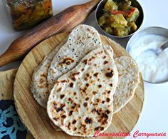 Great #glutenfree Naan recipe by @Purabi Naha!