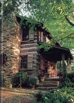 54 Ideas for exterior house rustic cabin Old Cabins, Cabins And Cottages, Cabins In The Woods, Rustic Cabins, Log Cabin Living, Log Cabin Homes, Small Log Cabin, Cozy Cabin, Log Home Decorating