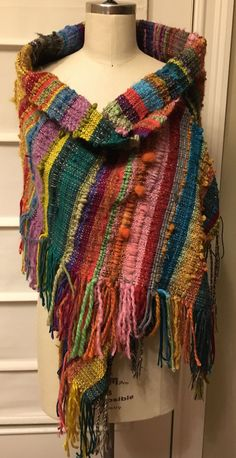 Hautemade scarves and shawls for Christmas!