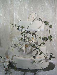 Weddingcake/bröllopstårta by Sugardesign, via Flickr
