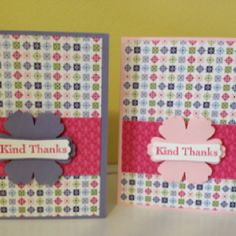 Handmade cards by Charming & Classy - check us out on FB