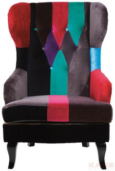 Wing Chair Cuckoo Colore