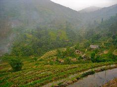 Trek au Vietnam. Région de Sapa
