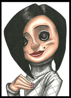 The Other Mother (Coraline). ❣Julianne McPeters❣ no pin limits Tim Burton Art, Tim Burton Style, Tim Burton Films, Coraline Jones, Coraline Movie, Coraline Drawing, Coraline Tattoo, Other Mother Coraline, Halloween Drawings