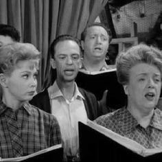 """""""Mayberry choir"""" from an episode of the beloved Andy Griffith Show."""