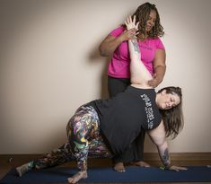 Amber & Dianne - yoga for all bodies