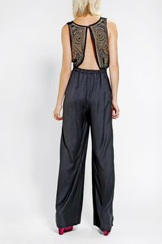 Ecote Val Embellished Jumpsuit #urbanoutfitters
