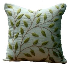 Peruvian Hand Embroidered Pillow by DubrasenHome on Etsy