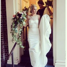 One of our gorgeous #eugeniacouture #realbrides