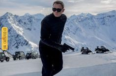 First official image of Daniel Craig as James Bond in SPECTRE – Sölden, Austria | For more #cool #funny #gif #gags #comic #cute #adorable #meme #humor like this , visit CheeseFeed.co/ :)