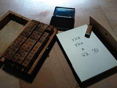 Stamps Buchstabenstempel