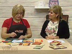 Vitrine do Artesanato na TV - Carteira com Porta Celular Ana Cosentino