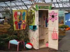 decorative outhouses