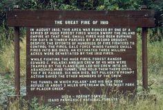 Memorial of 1910 fires