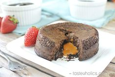What could be better than an ooey gooey low carb lava cake? How about one filled with sugar-free caramel? While I am away this week, I asked some great new low carb bloggers to fill in for m…