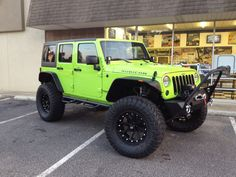 Lou/Hulk Love the plates, and of course the Jeep :thumb: We have the real Hulk as a deputy Sheriff here in our town. Friday, Lou Ferrrigno was sworn into. Jeep Wrangler Tires, Green Jeep Wrangler, Jeep Wrangler Forum, Jeep Tj, Jeep Rubicon, Jeep Wrangler Unlimited, Jeep Wranglers, Lime Green Jeep, Jeep Sahara