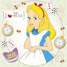 I {❤} Alice In Her Wonderland by Lilycious Alicia Wonderland, Alice In Wonderland Costume, Disney Rapunzel, Disney Art, Walt Disney, Disney Character Sketches, Caterpillar Alice In Wonderland, Disney Wallpaper, Anime Chibi
